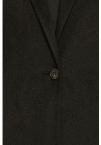 Czarny płaszcz AllSaints na co dzień, bez kaptura #6