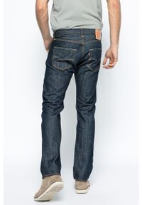 Niebieskie jeansy Levi's® z aplikacjami, z obniżonym stanem