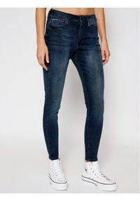 Tommy Jeans Jeansy Skinny Fit Sylvia DW0DW09009 Granatowy Skinny Fit. Kolor: niebieski