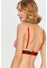 Czerwony biustonosz Moschino Underwear z nadrukiem #3