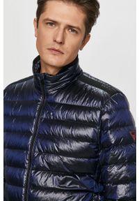 Niebieska kurtka Guess bez kaptura
