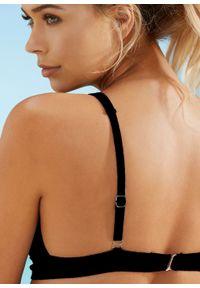 Biustonosz bikini bustier bonprix czarny. Kolor: czarny