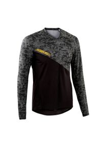 ROCKRIDER - Bluza rowerowa Rockrider MTB AM. Materiał: poliester, materiał, elastan. Długość rękawa: długi rękaw. Długość: długie