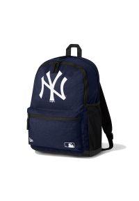 New Era - NEW ERA NEW YORK YANKEES BLUE RUCKSACK > 12381020. Materiał: materiał, poliester. Wzór: paski. Styl: elegancki