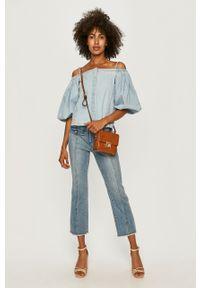 Niebieskie jeansy Miss Sixty casualowe, na co dzień