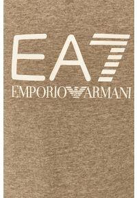 EA7 Emporio Armani - Bluza. Okazja: na co dzień. Kolor: szary. Styl: casual
