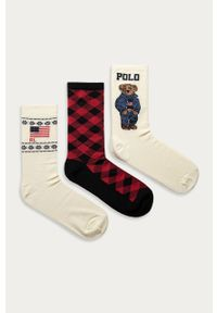 Wielokolorowe skarpetki Polo Ralph Lauren