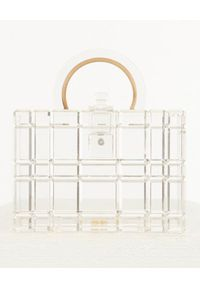 CULT GAIA - Transparentna torebka Fai. Sezon: lato. Rodzaj torebki: na ramię
