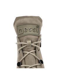 Nessi - Botki NESSI 20748 Beż W.. Kolor: beżowy