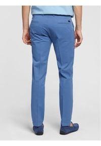 Vistula Chinosy Alain XA1222 Niebieski Slim Fit. Kolor: niebieski