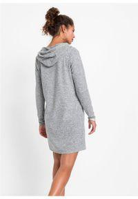 Szara sukienka bonprix oversize