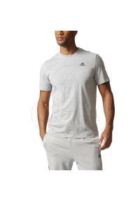 Koszulka sportowa Adidas z nadrukiem, na lato