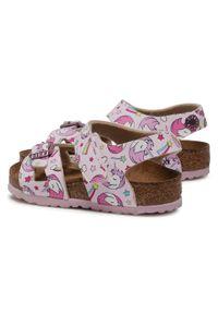 Różowe sandały Birkenstock