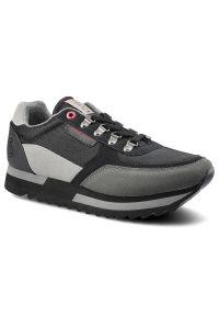 Cross Jeans - Sneakersy CROSS JEANS II1R4016C Czarny. Kolor: czarny