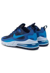 Niebieskie sneakersy Nike z cholewką
