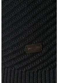 Only & Sons - Sweter. Okazja: na co dzień. Kolor: niebieski. Długość rękawa: długi rękaw. Długość: długie. Styl: casual #3