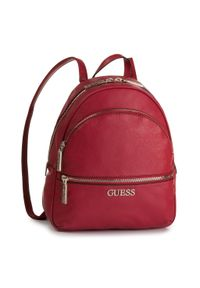 Czerwony plecak Guess elegancki