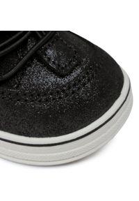 Czarne buty zimowe Sergio Bardi Young z cholewką
