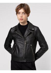 Czarna kurtka przejściowa Hugo