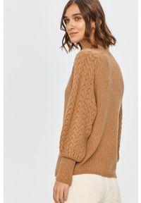 Sweter Answear Lab długi, wakacyjny, na co dzień, z długim rękawem