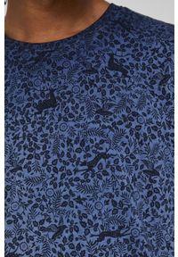 medicine - Medicine - T-shirt bawełniany Tapestry. Kolor: niebieski. Materiał: bawełna