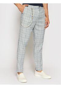 Imperial Spodnie materiałowe PD2FBPO Niebieski Slim Fit. Kolor: niebieski. Materiał: materiał
