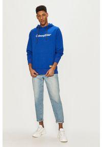 CATerpillar - Caterpillar - Bluza. Kolor: niebieski. Wzór: aplikacja