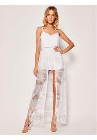 Biała sukienka letnia Guess