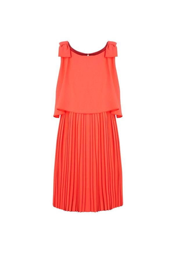 Różowa sukienka Mayoral elegancka