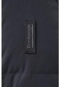 Bomboogie - Kurtka puchowa. Okazja: na co dzień. Kolor: czarny. Materiał: puch. Styl: casual