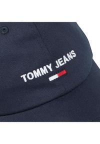 Niebieska czapka z daszkiem Tommy Jeans sportowa