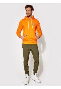 Rage Age Bluza Hooddie 2 Pomarańczowy Slim Fit. Kolor: pomarańczowy
