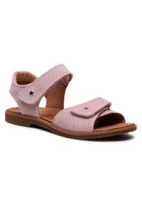 Primigi - Sandały PRIMIGI - 7394033 D Chiffon. Kolor: różowy. Materiał: skóra, zamsz. Sezon: lato