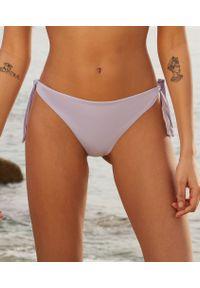 Bresil Spe Wiązane Brazyliany Bikini Od Kostiumu Kąpielowego - 36 - Lilowy - Etam. Materiał: tkanina