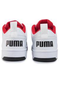 Białe półbuty Puma z cholewką, na co dzień