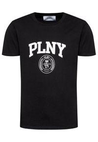 PLNY Textylia T-Shirt Stanford 00223 Czarny Regular Fit. Kolor: czarny