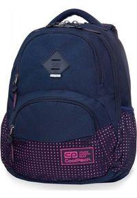 Patio Plecak szkolny Coolpack Cp granatowy. Kolor: niebieski