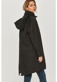 Czarna kurtka G-Star RAW gładkie, z kapturem