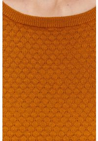 Vero Moda - Sweter. Kolor: żółty