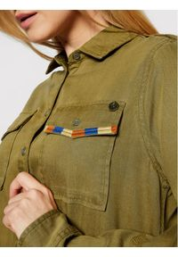 Superdry Koszula Military W4010154A Zielony Regular Fit. Kolor: zielony #2
