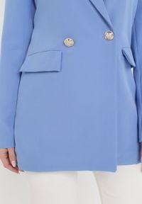 Born2be - Niebieska Marynarka Petheasi. Kolor: niebieski