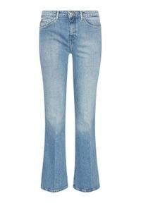 TOMMY HILFIGER - Tommy Hilfiger Jeansy Bootcut WW0WW30814 Niebieski Regular Fit. Kolor: niebieski