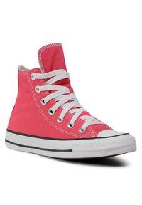 Różowe buty sportowe Converse