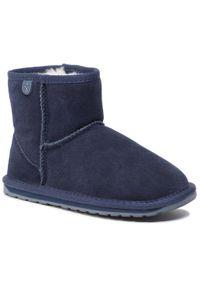 Niebieskie buty zimowe EMU Australia