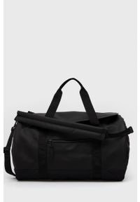 Rains - Torba 1354 Duffel Bag. Kolor: czarny