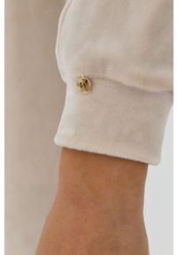 Nissa - NISSA - Bluza. Okazja: na co dzień. Kolor: beżowy. Materiał: dzianina. Długość rękawa: długi rękaw. Długość: długie. Styl: casual