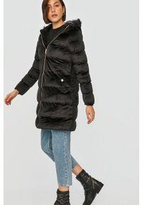 Czarna kurtka Answear Lab z kapturem, na co dzień, wakacyjna