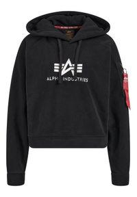 Czarny polar Alpha Industries