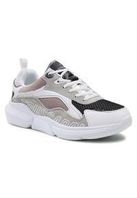 Trussardi Jeans - Trussardi Sneakersy 77A00334 Szary. Kolor: szary
