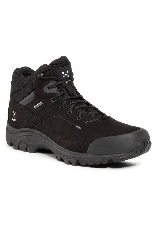 Haglöfs Trekkingi Ridge Mid Gt Men 497800 Czarny. Kolor: czarny. Sport: turystyka piesza